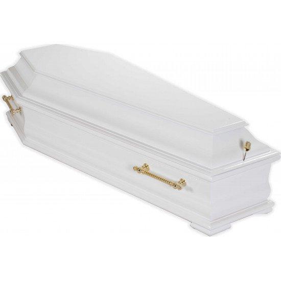 Гроб Русич белый
