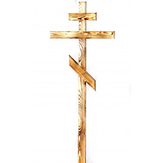 Крест сосновый коричневый 6