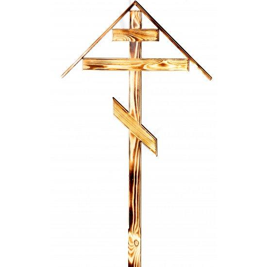 Крест сосновый коричневый 7