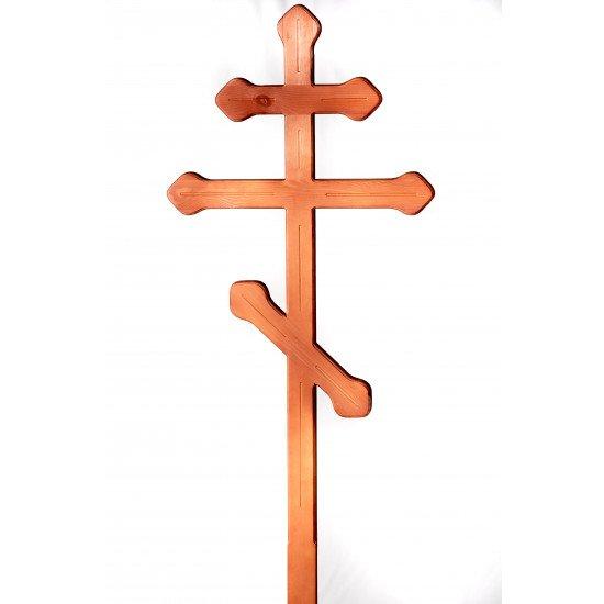 Крест сосновый коричневый 8