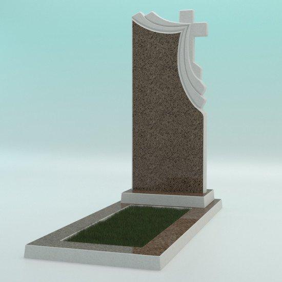 Памятник из высокопрочного бетона №2 1000-430-50