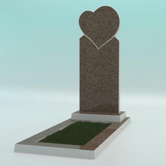 Памятник из высокопрочного бетона №3 1000-400-50