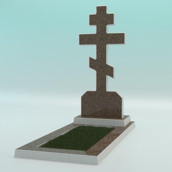 Памятник из высокопрочного бетона №5 1000-430-50