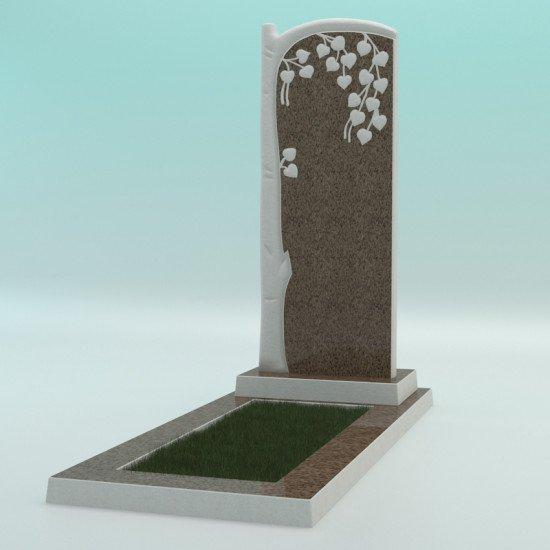 Памятник из высокопрочного бетона №6 1000-400-50