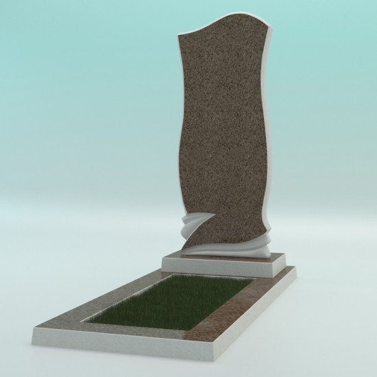 Памятник из высокопрочного бетона №7 1000-400-50