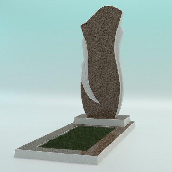 Памятник из высокопрочного бетона №8 1000-430-50