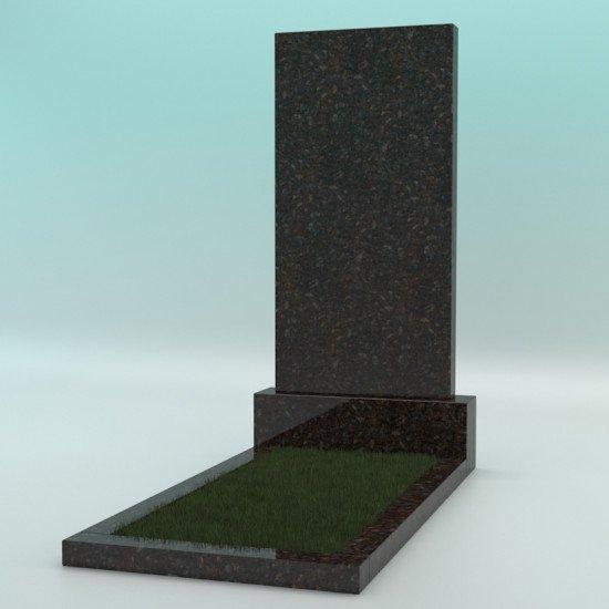Памятник из гранита прямой коричневый 1000-500-70